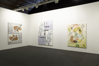 Galerie Valentin at Art Los Angeles Contemporary 2016, installation view