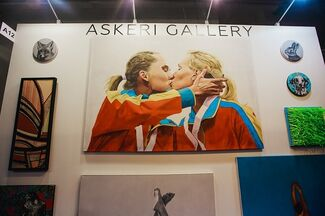 Askeri Gallery at ArchMoscow 2018, installation view