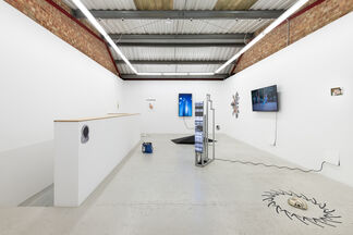 Group Show 'Terms and Conditions May Apply' (Curated by Bob Bicknell-Knight), installation view