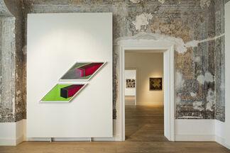 Nil Yalter, '20th century / 21st century', installation view
