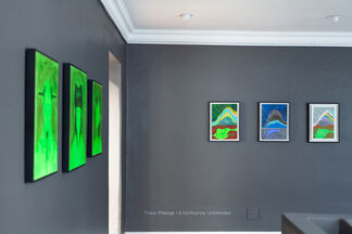 Thebe Phetogo | A Confluence, Unintended, installation view