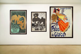 Turn of the Century Posters: The Roots of Graphic Design, installation view