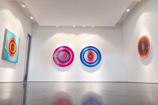 """Franco DeFrancesca - """"Spin Cycle Matrix"""", installation view"""