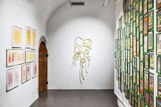 Monyque frydman U-Topie de la couleur, installation view