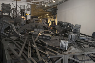 Jane South: Raked, installation view