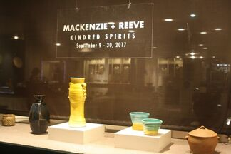 KINDRED SPIRITS: WARREN MACKENZIE AND JOHN REEVE, installation view
