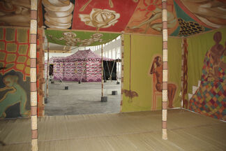 Francesco Clemente: Encampment, installation view