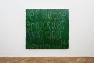 Daniel Weissbach 'Stellen / Places', installation view