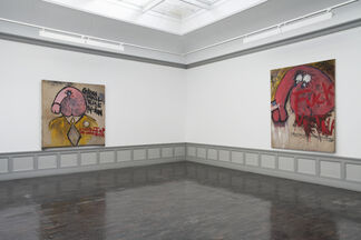 Judith Bernstein, installation view