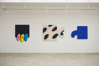 André Azevedo & James English Leary, installation view