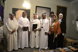 Abu Dhabi Art Hub at Abu Dhabi Art 2013, installation view
