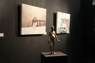 Visual Intelligence:  Recent Works from the New York Academy of Art, installation view