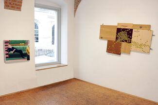 Patrick Baumüller | Walking the Plank, installation view