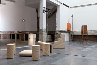 Broached Colonial at Paramount House, installation view