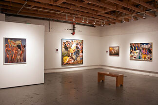 F. Scott Hess: SHATTERED, installation view