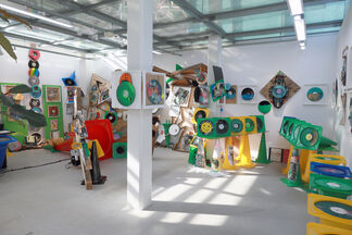 (recorn), installation view