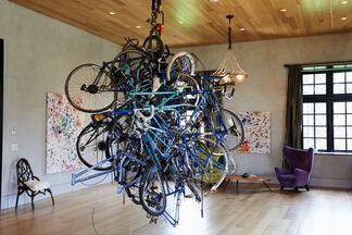 Dan Colen: HELP!, installation view