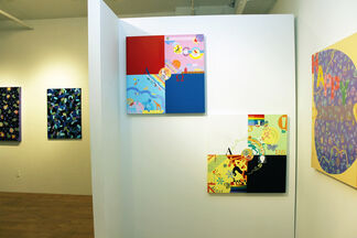 Mixed Media Works by Jihay Kang, installation view