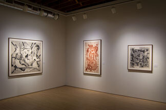 Luddite: New Prints by Aaron Spangler, installation view