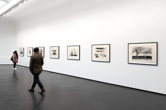David Lynch   Man in the rain, installation view