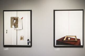John Chervinsky - Studio Physics + An Experiment in Perspective, installation view