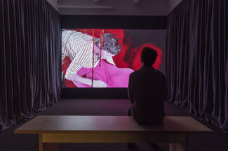 Tony Oursler: TC: the most interesting man alive, installation view
