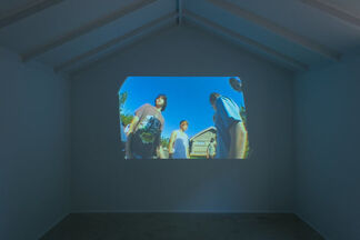 "Bradley Kronz - ""White Dicks/Skies of America/20th Century Photographs/xxuuuzs.1'n"", installation view"