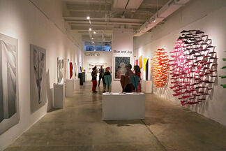Blue and Joy: When the Wind Retraces Its Steps, installation view