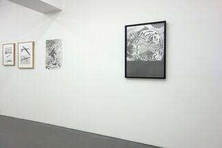 """◯▲◯▼"" by Ei Kaneko, installation view"
