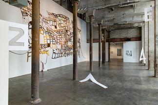 Linda Herritt: Grease Rust Soot Sweat, installation view