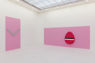 Sergio De Beukelaer, '-...' at CC Mechelen - De Garage, installation view