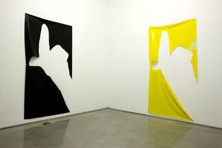 """Davis Rhodes - """"Untitled '09"""", installation view"""