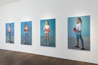 Claerwen James, installation view