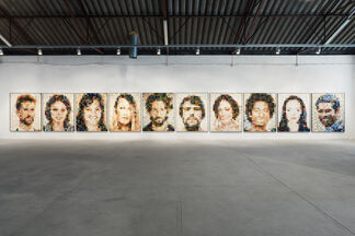 Best Guess for this Image:, installation view