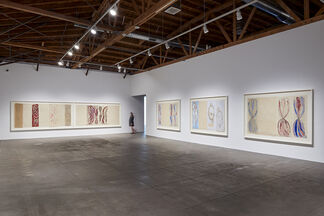 Louise Bourgeois. The Red Sky, installation view