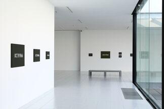 On Kawara - 1966, installation view