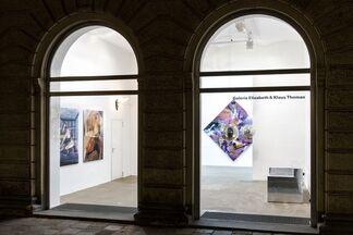 SEITENGALERIE: John M. Armleder, Carmen Brucic, Florin Kompatscher, Arnulf Rainer a.o., installation view