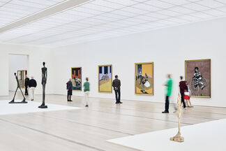 Bacon - Giacometti, installation view