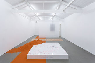YGRG14X: reading with the single hand V, installation view