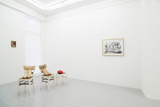 The Funnies, installation view