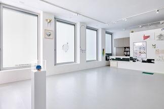 Nic Hess - Grosser Fahrplan für eine kleine Stadt, installation view