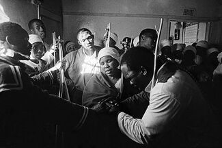 ON FIRE - Notions of community in post-apartheid South Africa, installation view