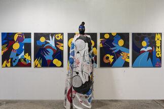 Fragments d'une fleur - dédié a Romina, installation view