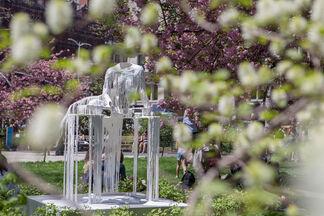 Diana Al-Hadid: Delirious Matter, installation view