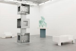 Joep van Lieshout 'Primitive Modern', installation view