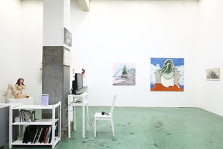 Tomorrow is today I see for the first time., installation view