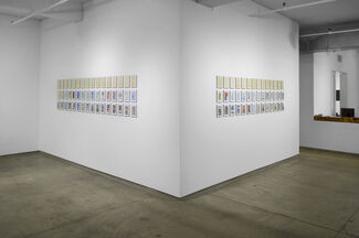 Tom Phillips - Pages From A Humument, installation view