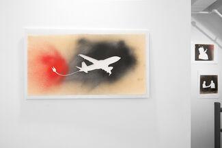 Empty Stencils: The Street Art of Jane Bauman, David Wojnarowicz, and Artists From Civilian Warfare Gallery, installation view