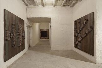 Jannis Kounellis - Senza Titolo, installation view