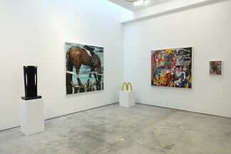 Five at Nine, installation view